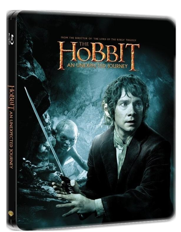HOBIT: NEOČEKÁVANÁ CESTA - Blu-ray (2 BD) STEELBOOK