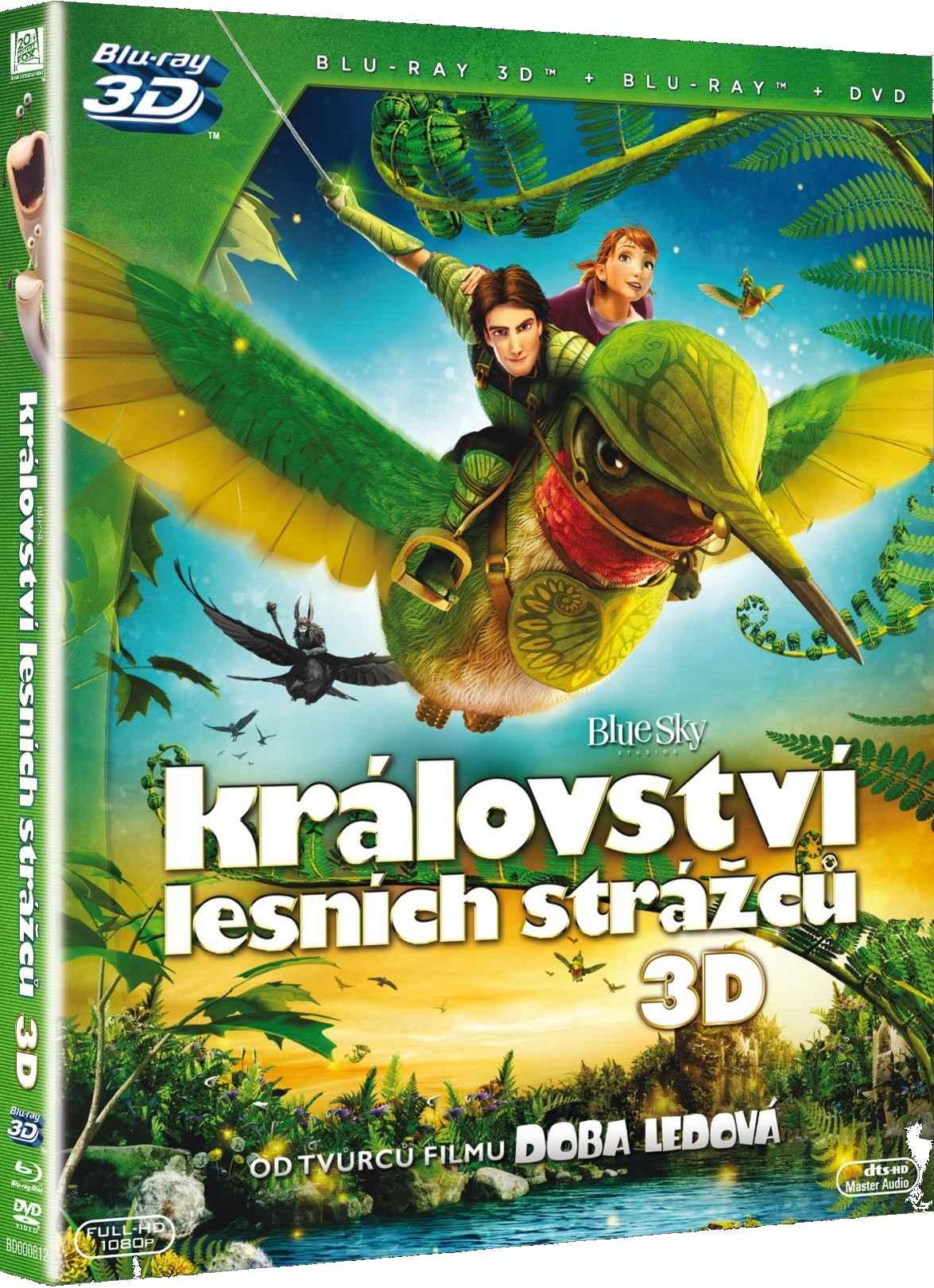 KRÁLOVSTVÍ LESNÍCH STRÁŽCŮ - Blu-ray 3D + 2D + DVD