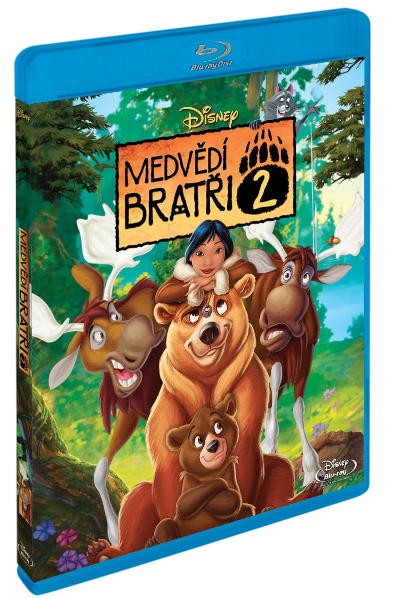 MEDVĚDÍ BRATŘI 2 - Blu-ray