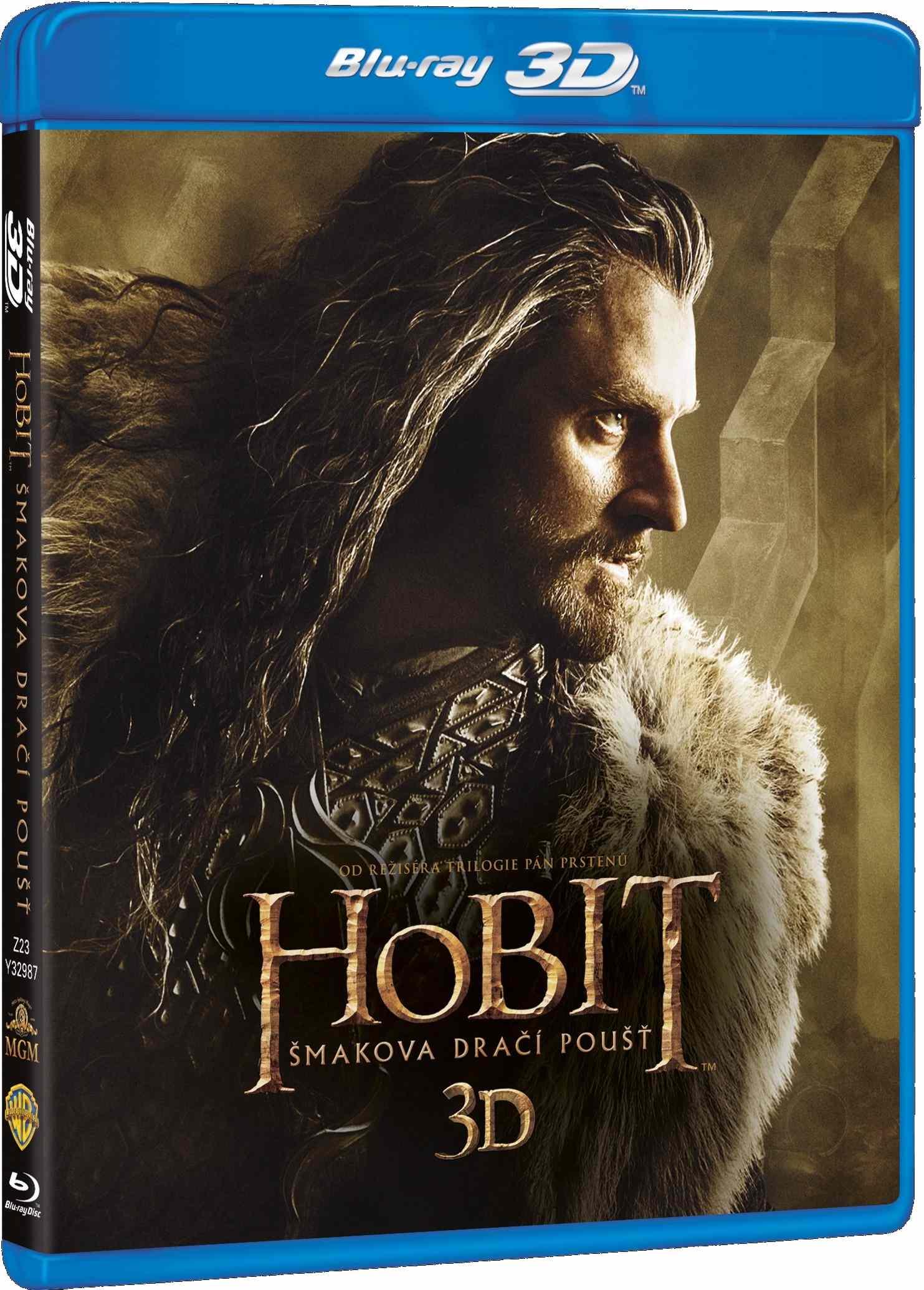HOBIT: ŠMAKOVA DRAČÍ POUŠŤ - Blu-ray 3D + 2D