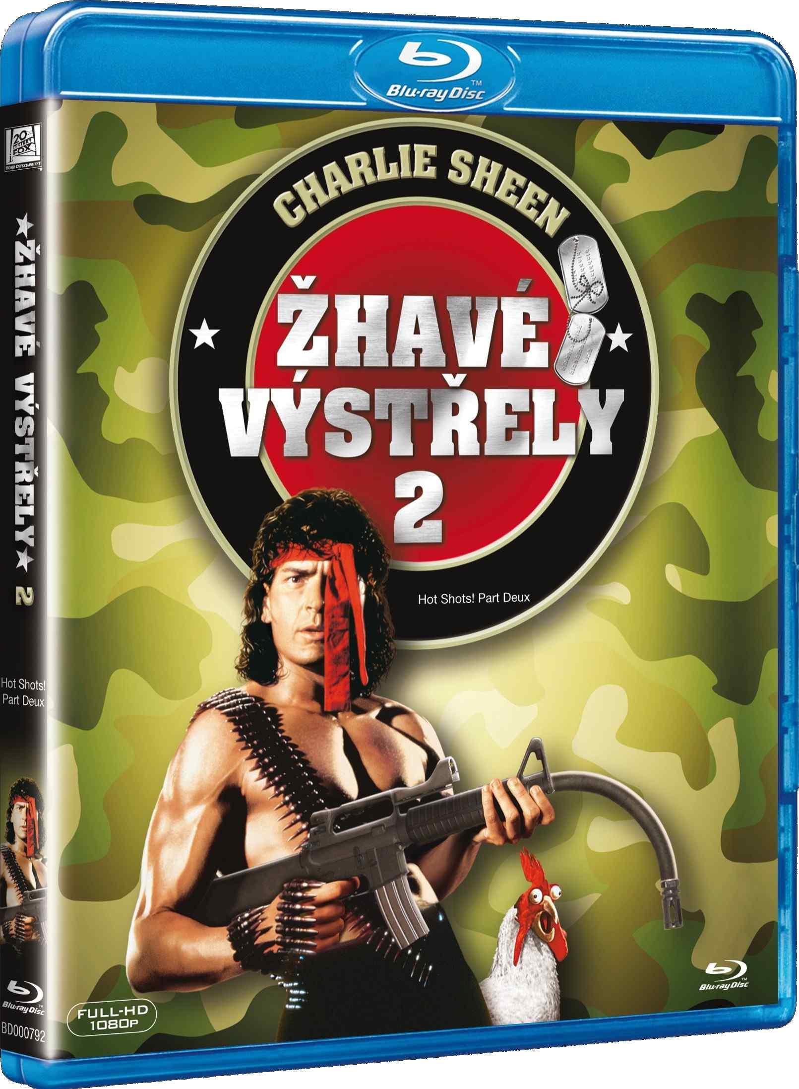 ŽHAVÉ VÝSTŘELY 2 - Blu-ray