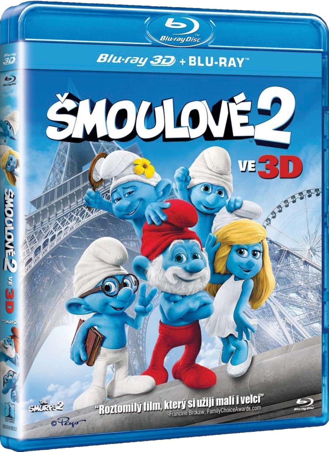 ŠMOULOVÉ 2 (2013) - Blu-ray 3D + 2D