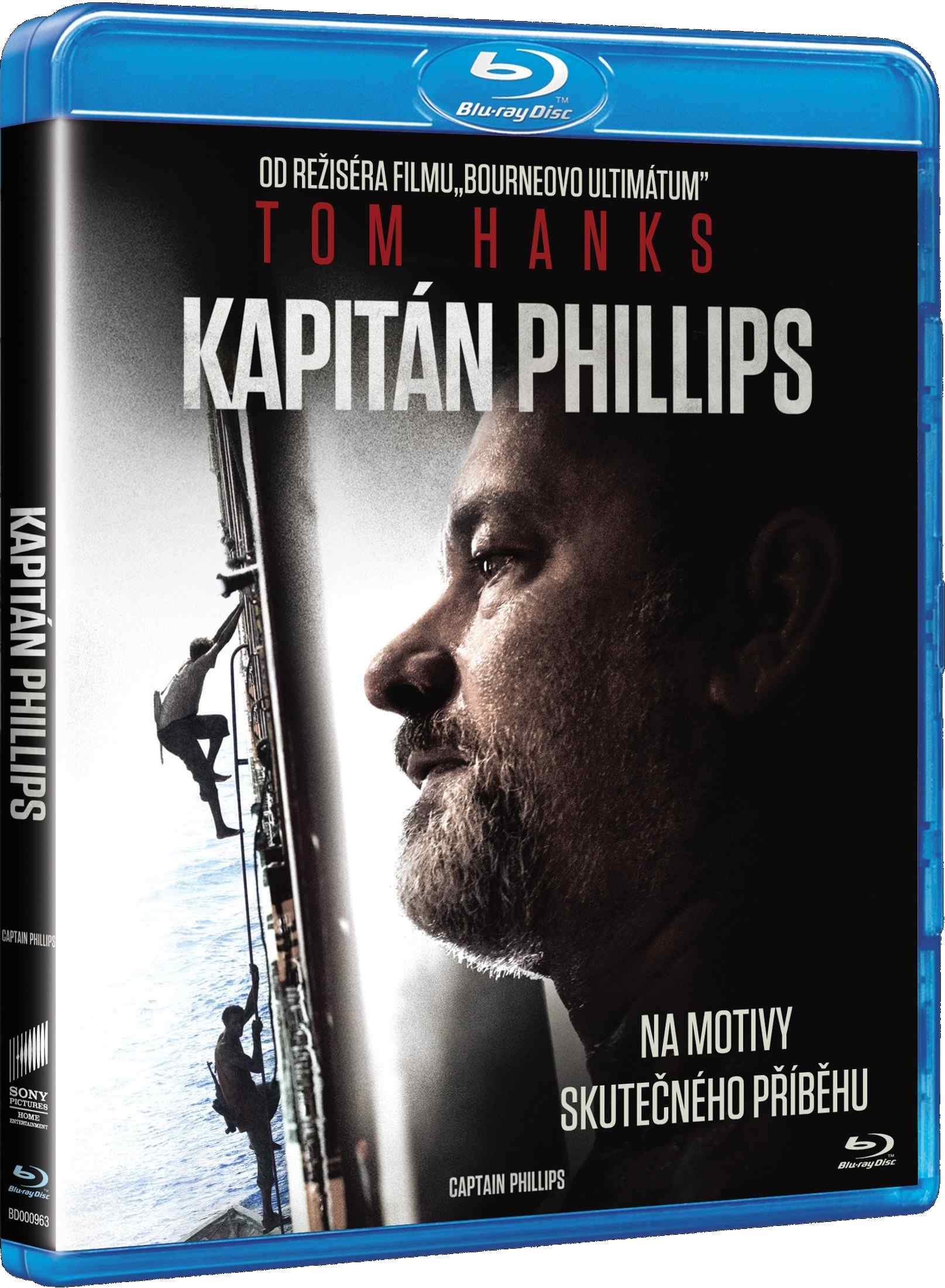 KAPITÁN PHILLIPS - Blu-ray