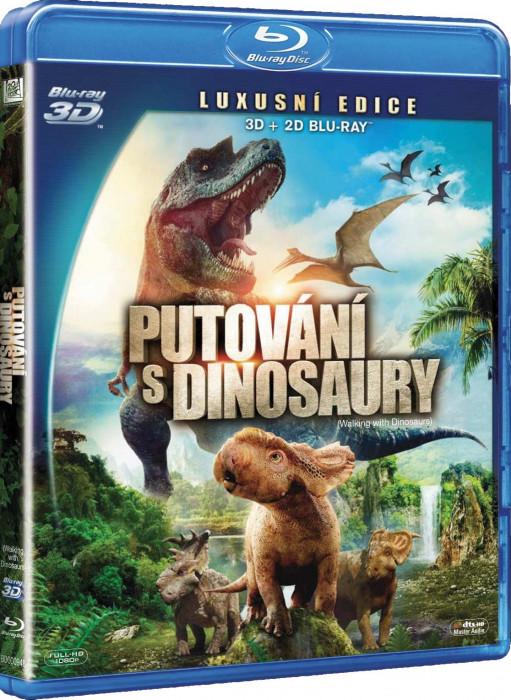PUTOVÁNÍ S DINOSAURY (2013) - Blu-ray 3D + 2D