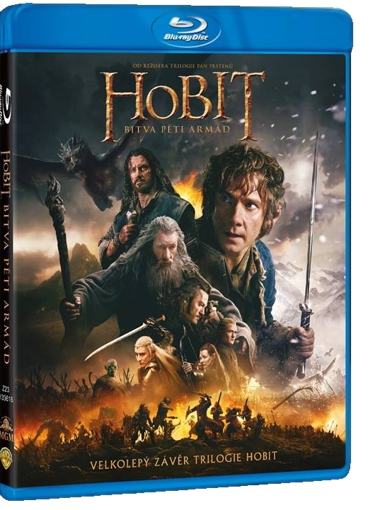 Hobit: Bitva pěti armád - Blu-ray