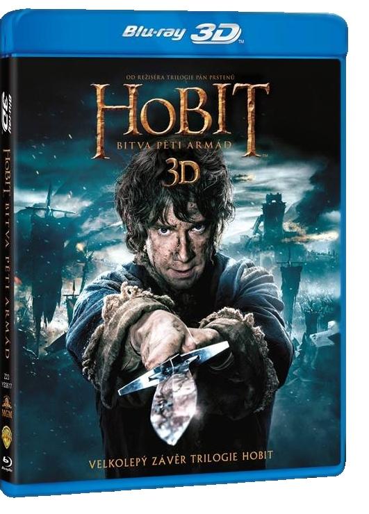 HOBIT: BITVA PĚTI ARMÁD - Blu-ray 3D + 2D