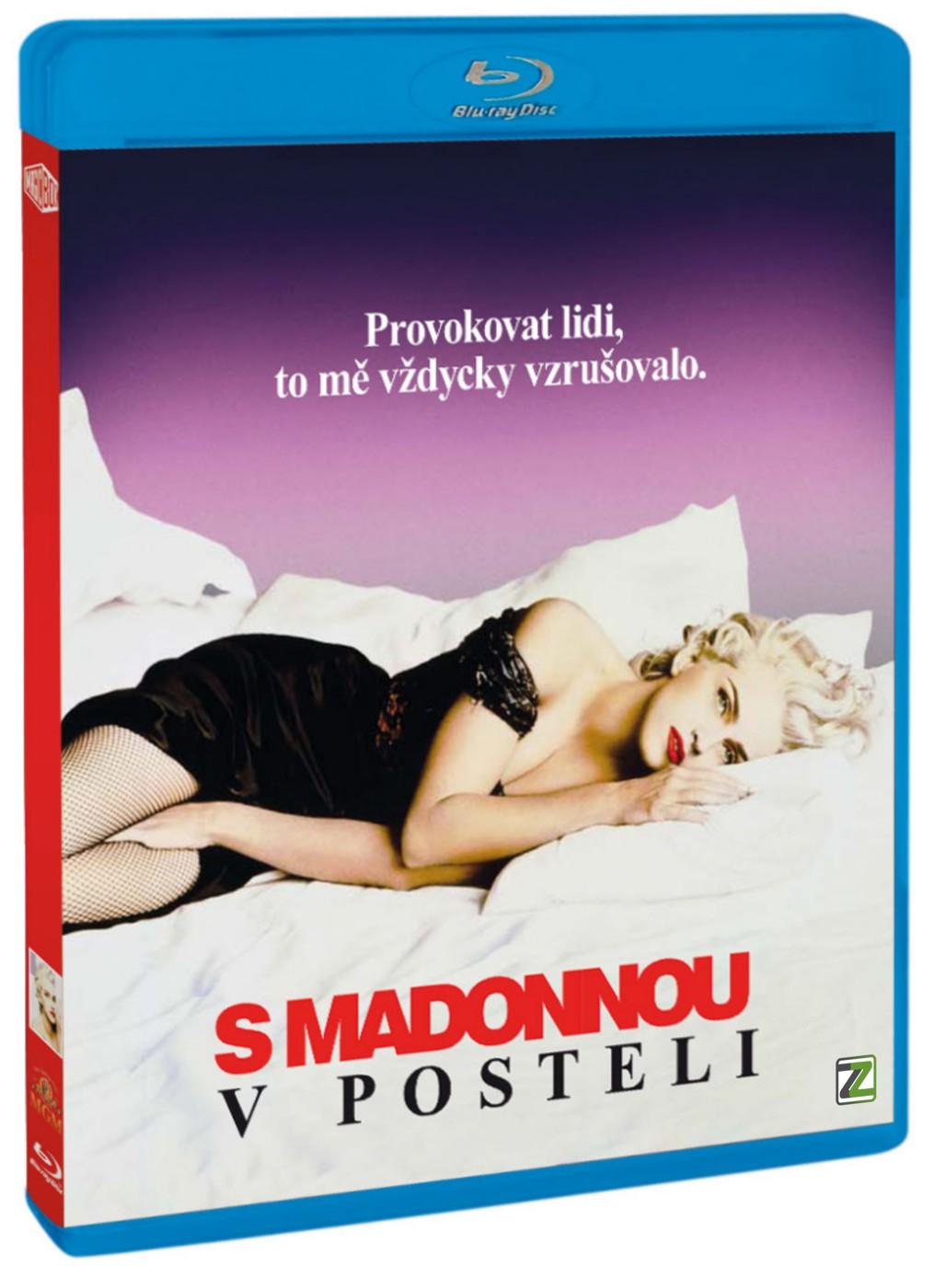 S MADONNOU V POSTELI - Blu-ray