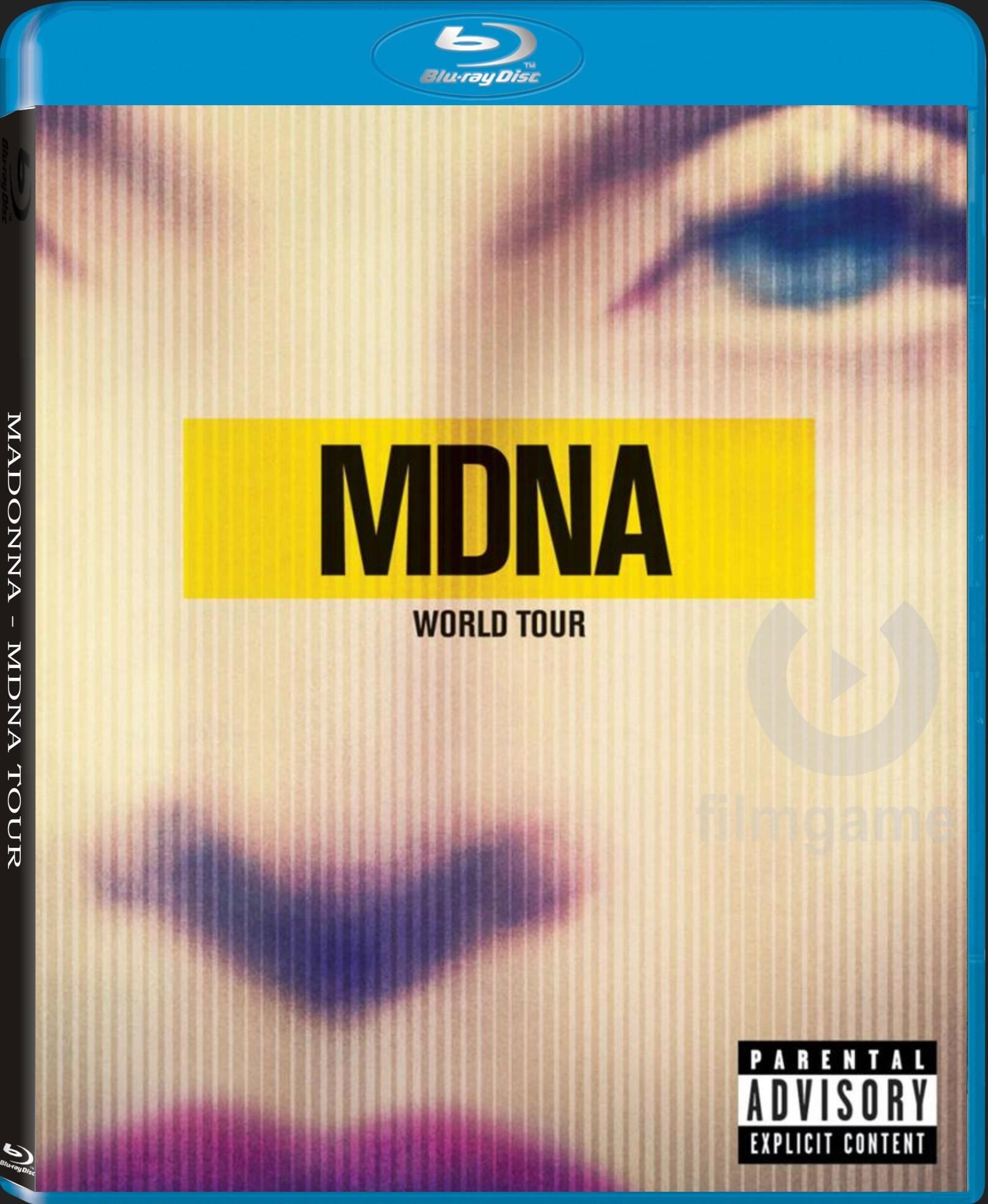 MADONNA - MDNA TOUR - Blu-ray