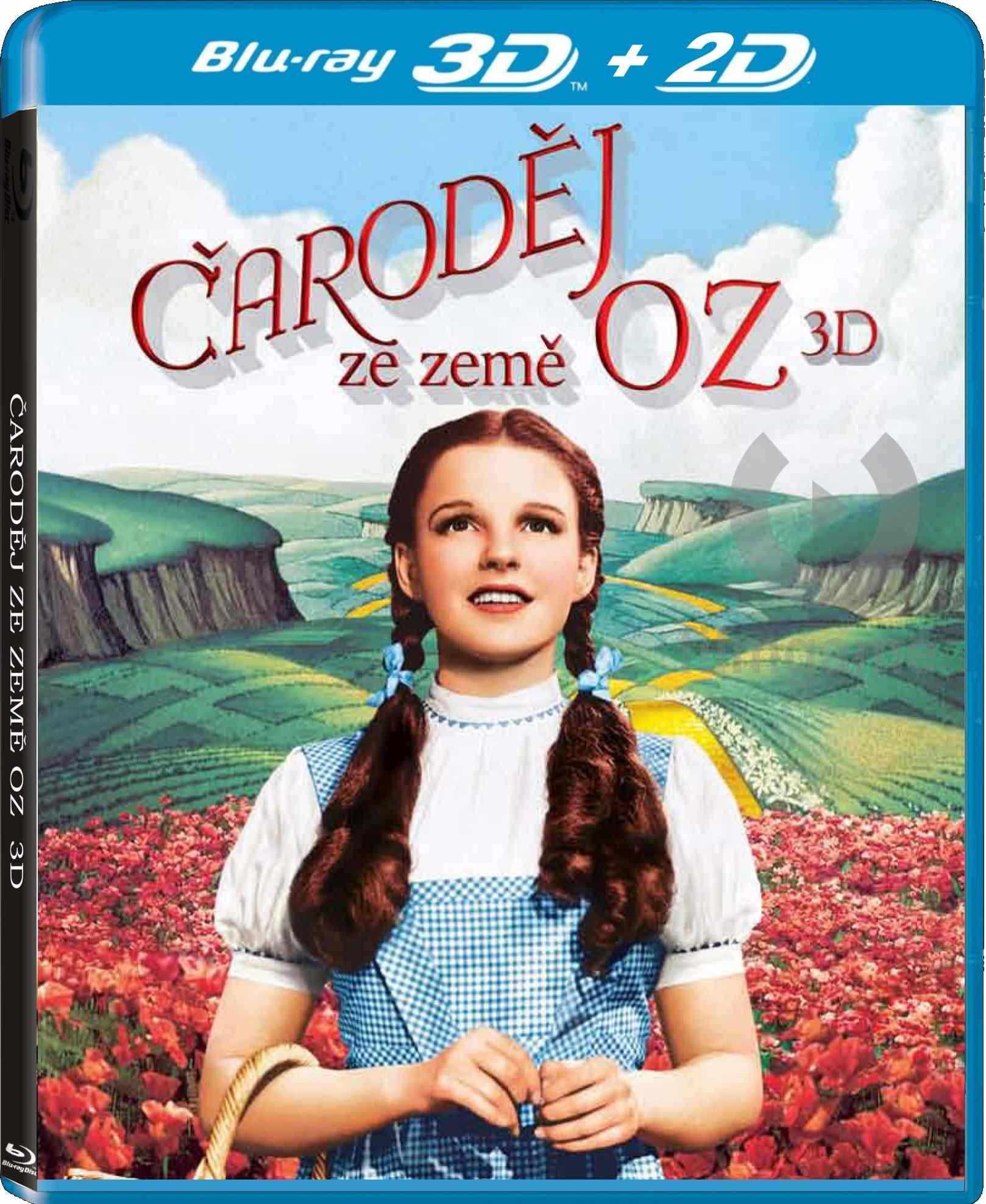 ČARODĚJ ZE ZEMĚ OZ - Blu-ray 3D + 2D