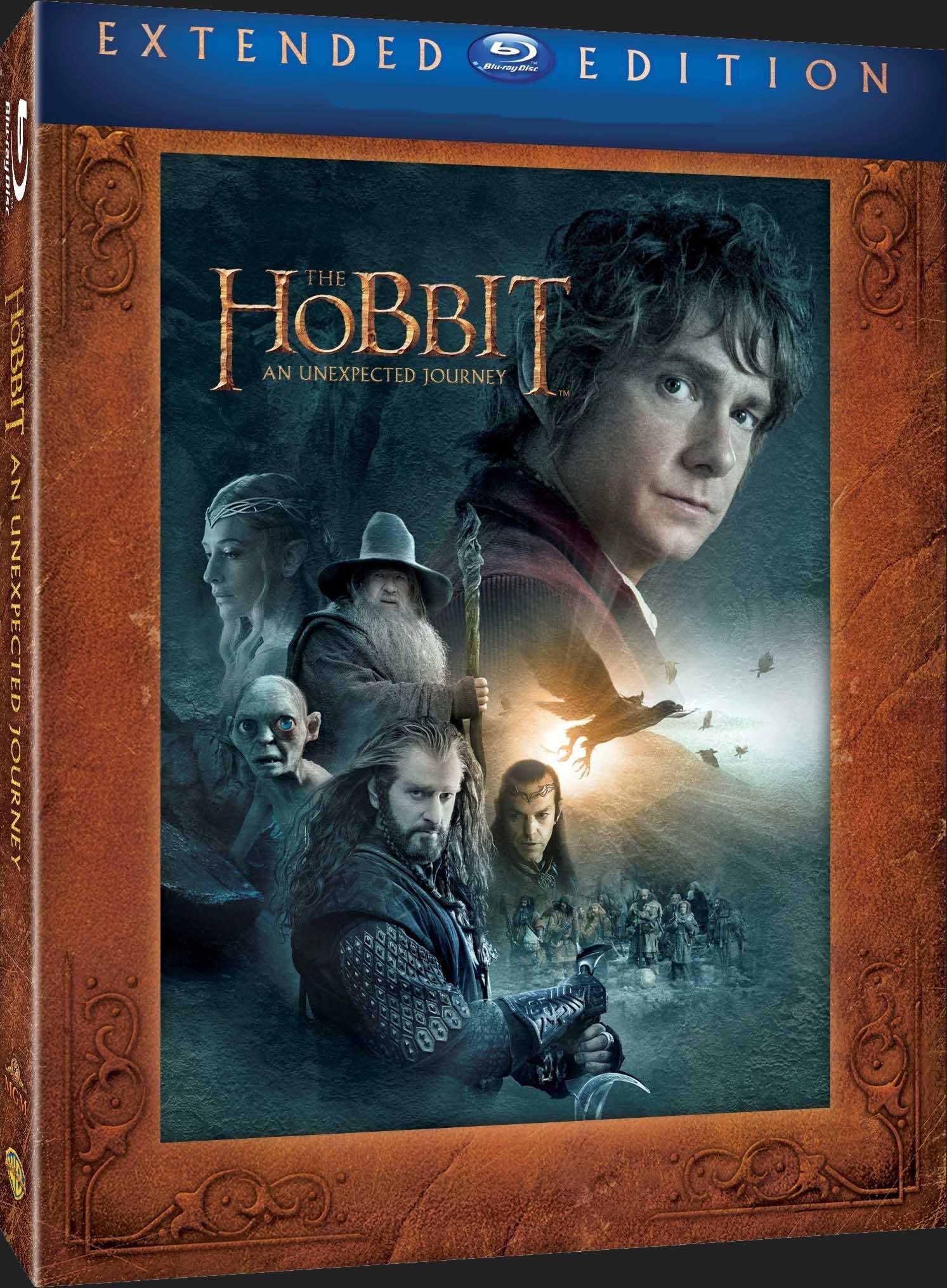 HOBIT: NEOČEKÁVANÁ CESTA (Prodloužená verze, 3 BD) - Blu-ray
