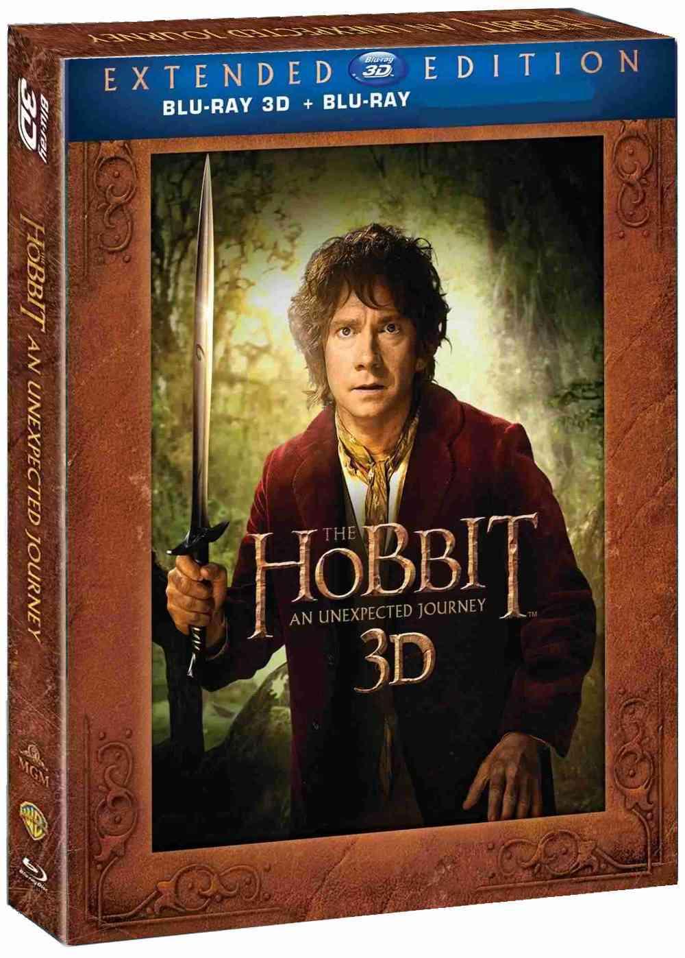 Hobit: Neočekávaná cesta (Prodloužená verze, 5 BD) - Blu-ray 3D + 2D