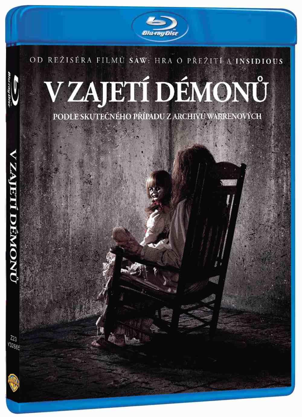V zajetí démonů - Blu-ray