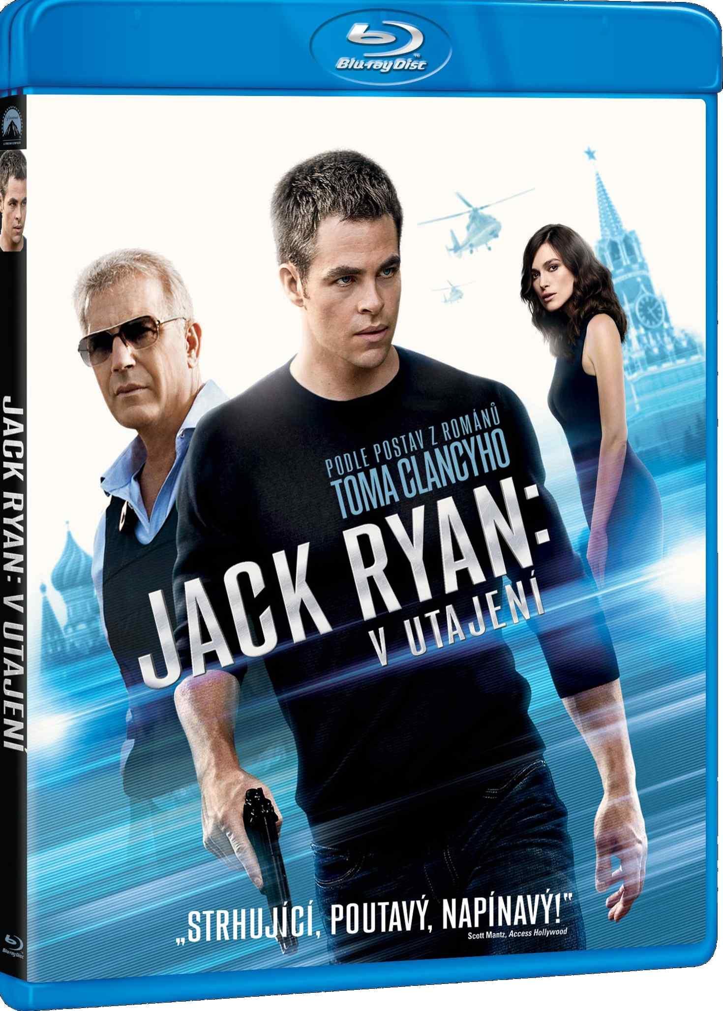 JACK RYAN: V UTAJENÍ - Blu-ray