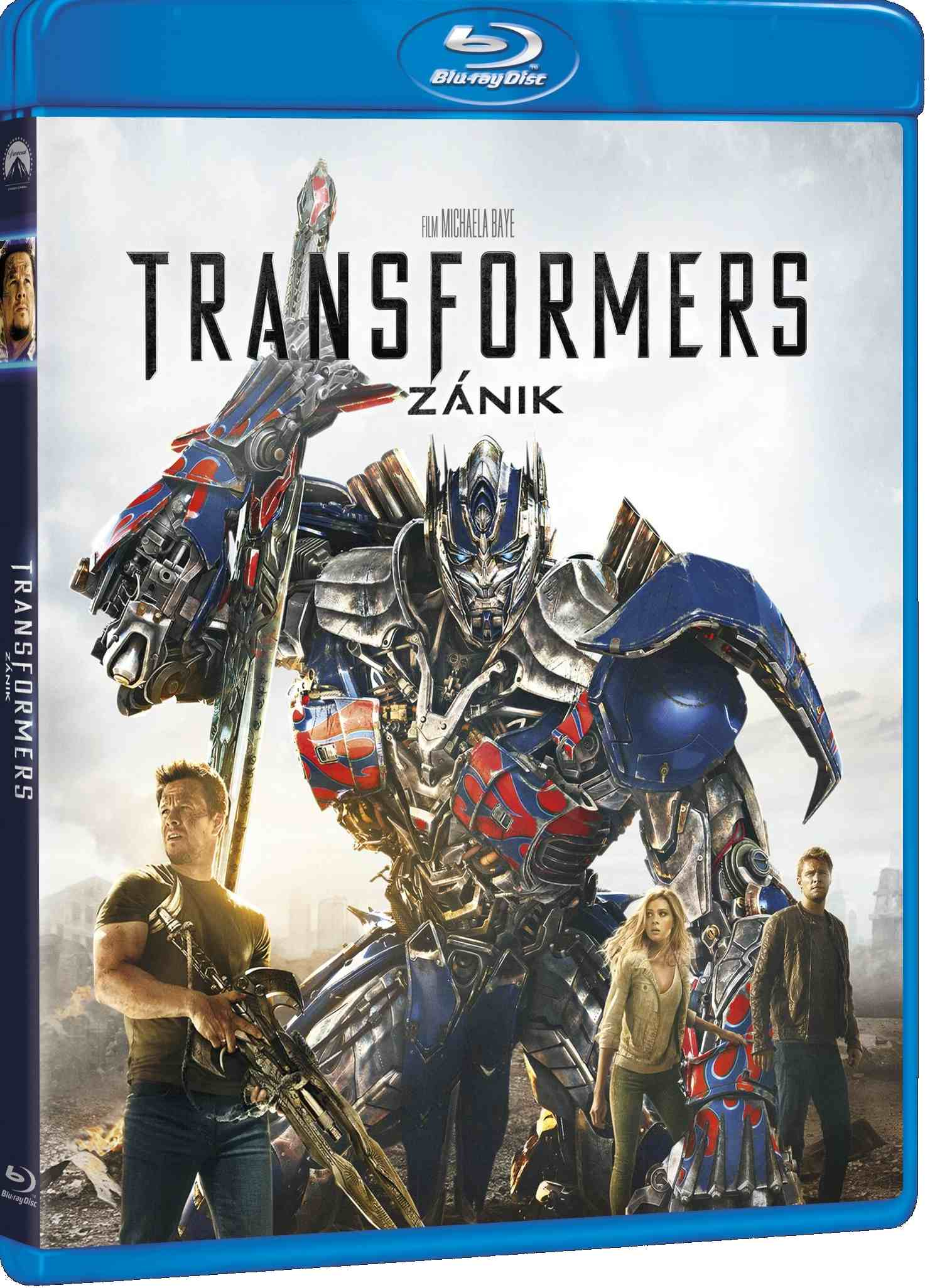 TRANSFORMERS 4: ZÁNIK - Blu-ray + bonus BD
