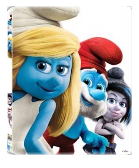 ŠMOULOVÉ 2 - Blu-ray 3D + 2D STEELBOOK