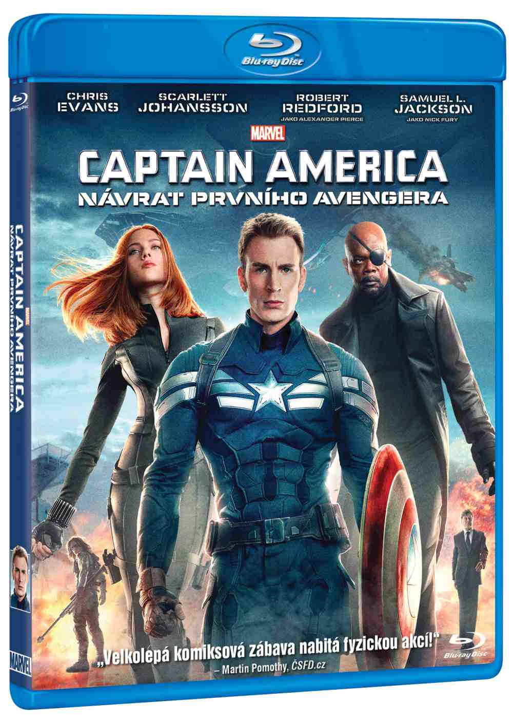 CAPTAIN AMERICA: NÁVRAT PRVNÍHO AVENGERA - Blu-ray