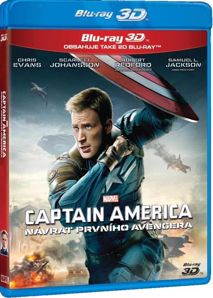 CAPTAIN AMERICA: NÁVRAT PRVNÍHO AVENGERA - Blu-ray 3D + 2D