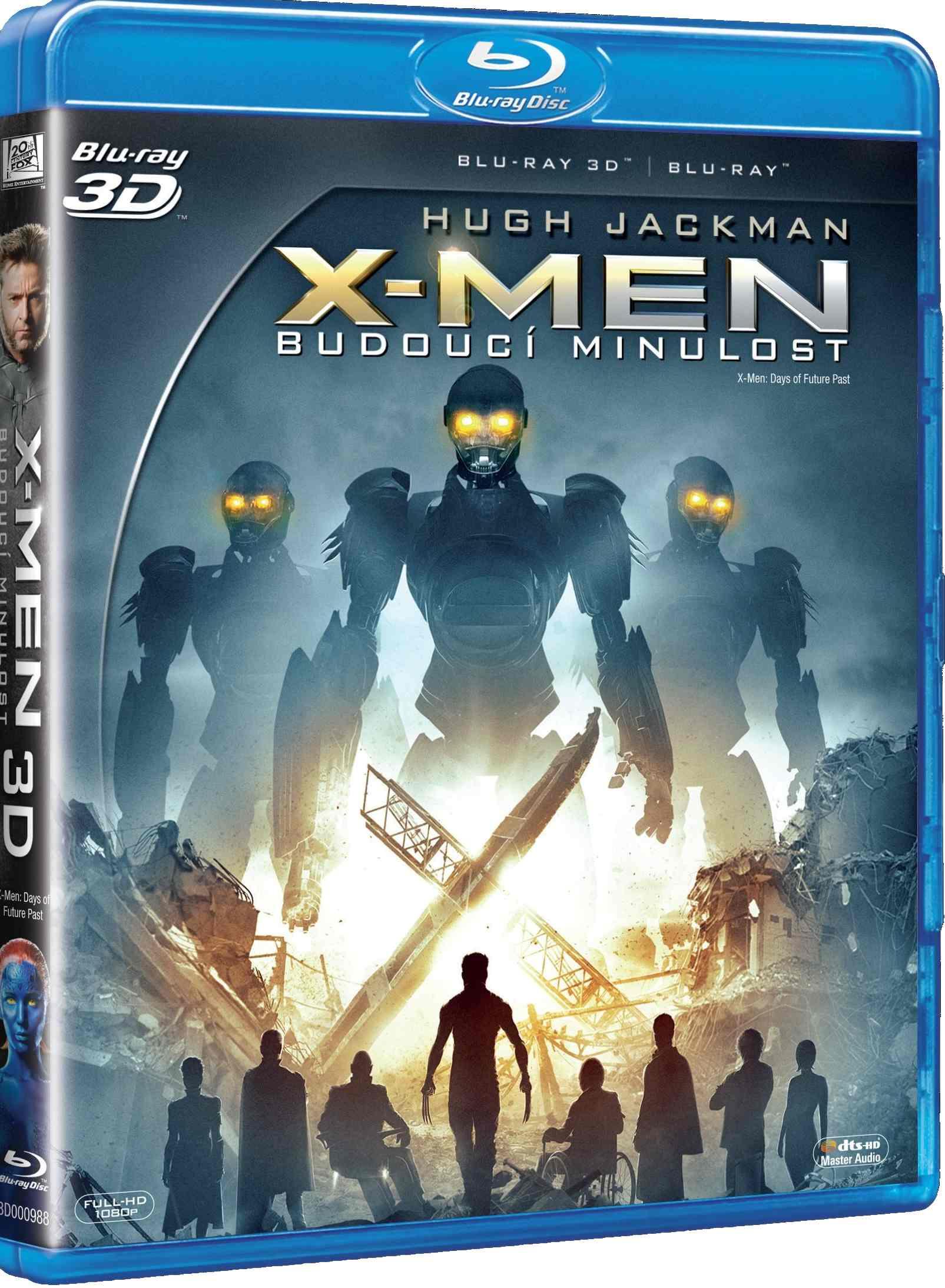 X-MEN: BUDOUCÍ MINULOST - Blu-ray 3D + 2D