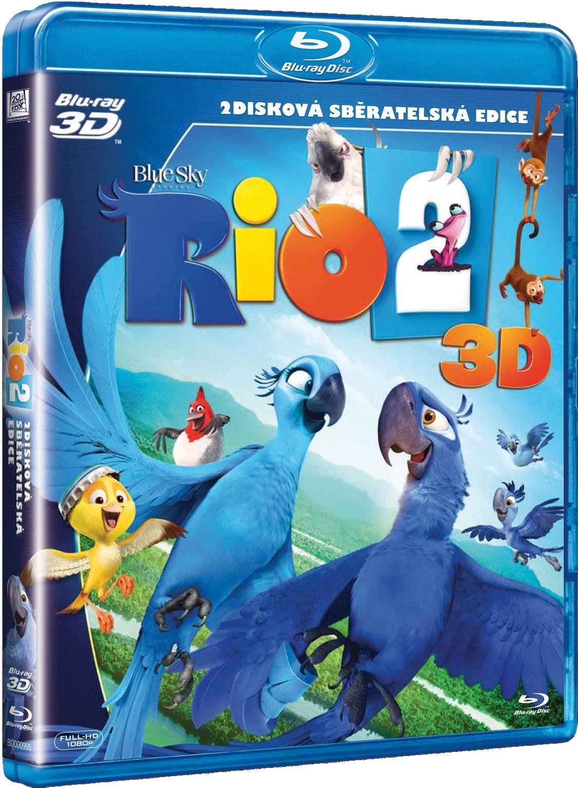 RIO 2 - Blu-ray 3D + 2D