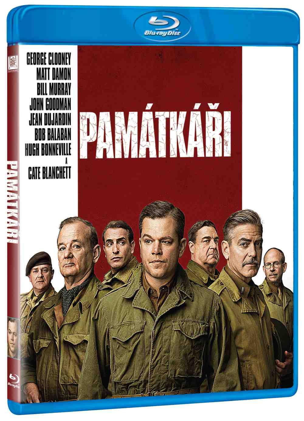 PAMÁTKÁŘI - Blu-ray