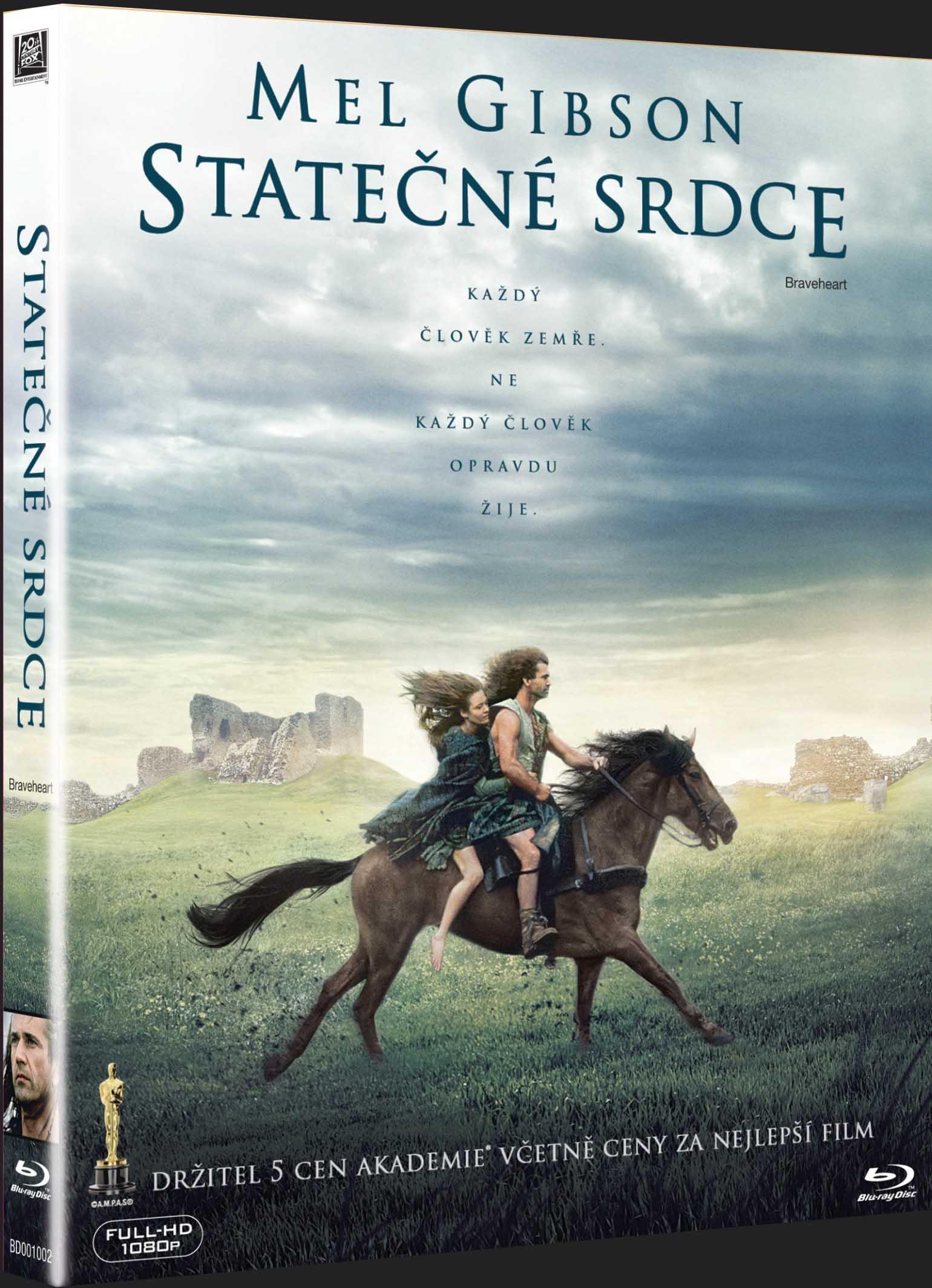 STATEČNÉ SRDCE - Blu-ray