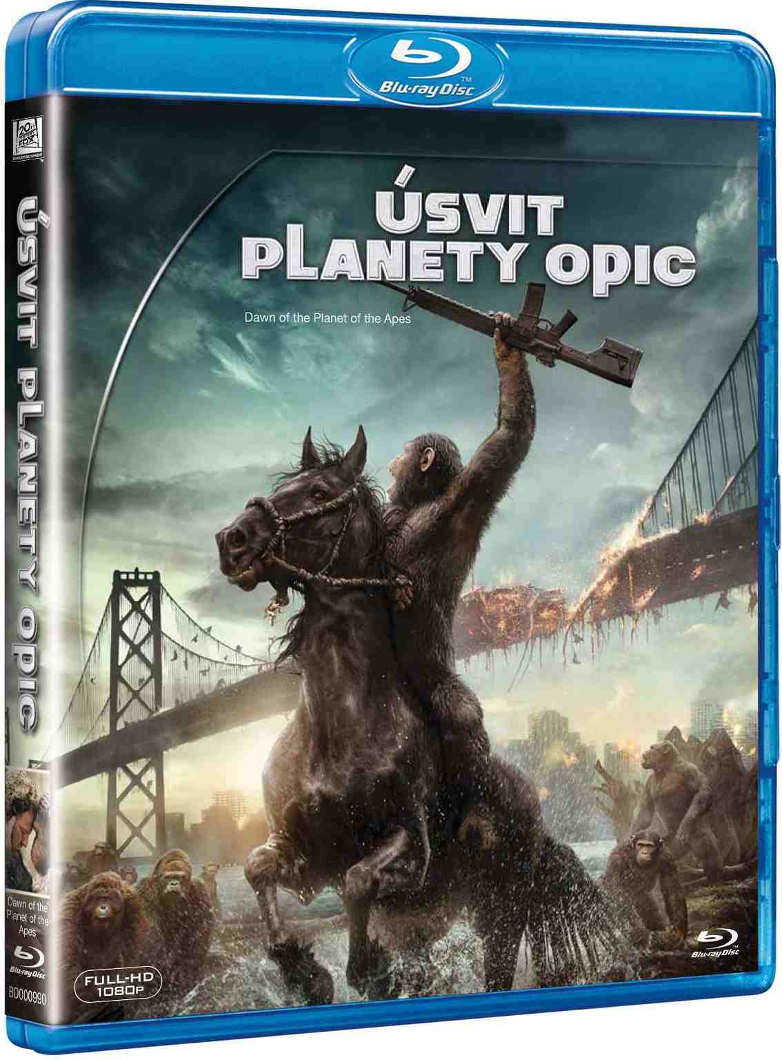 Úsvit planety opic - Blu-ray