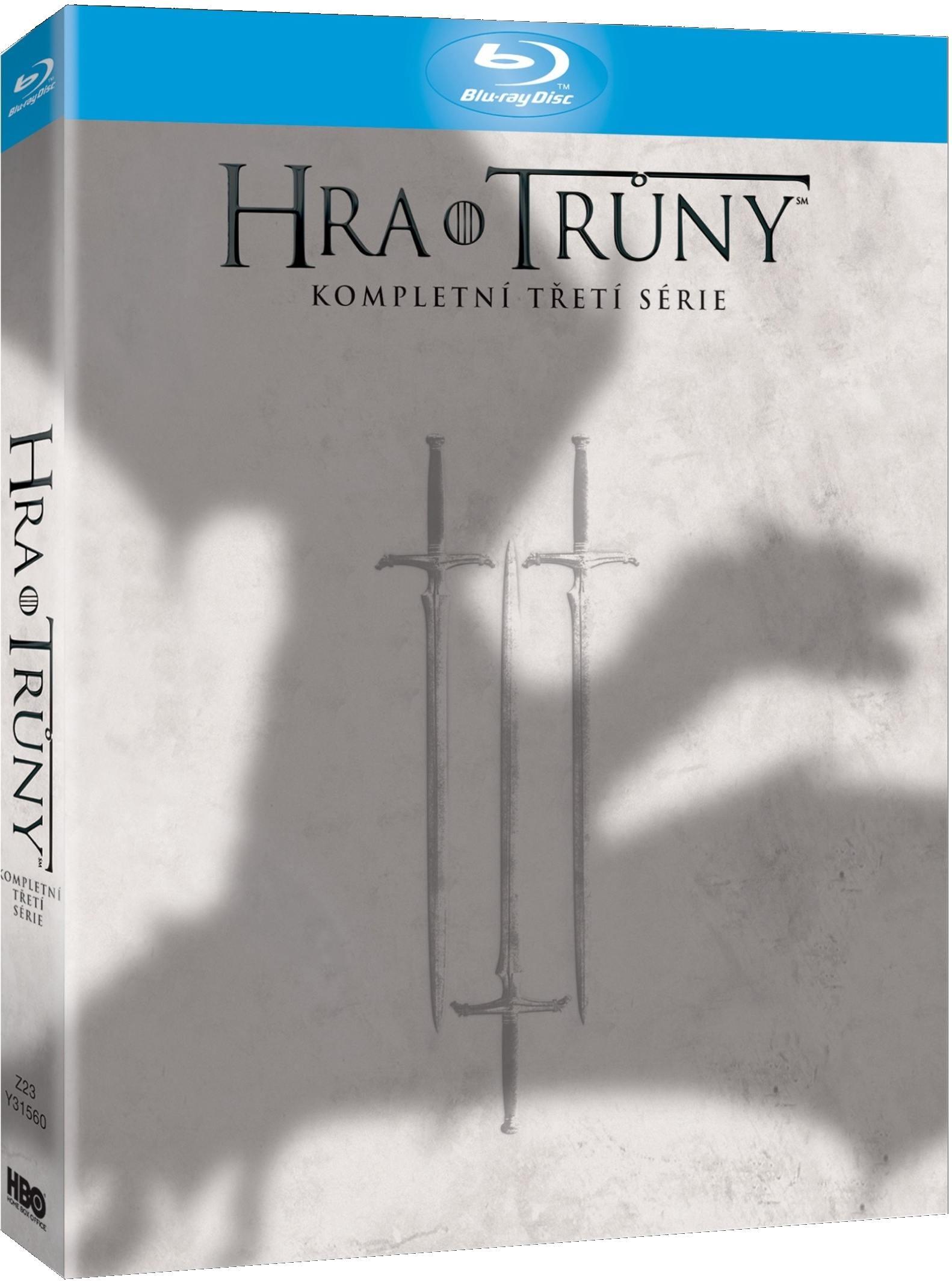 HRA O TRŮNY - 3. SÉRIE (5 BD) - Blu-ray