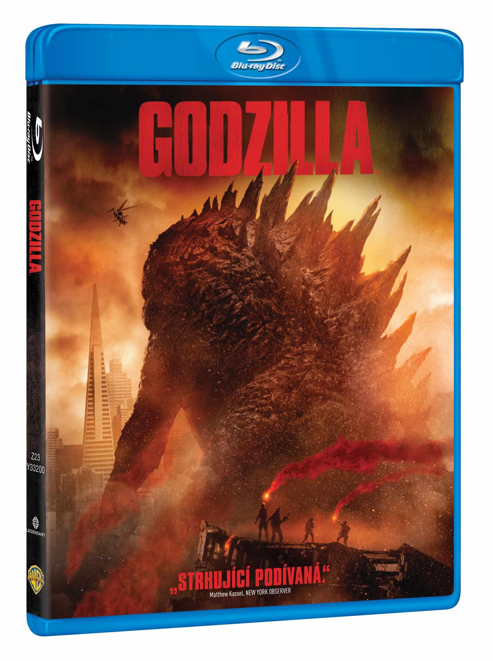 GODZILLA (2014) - Blu-ray