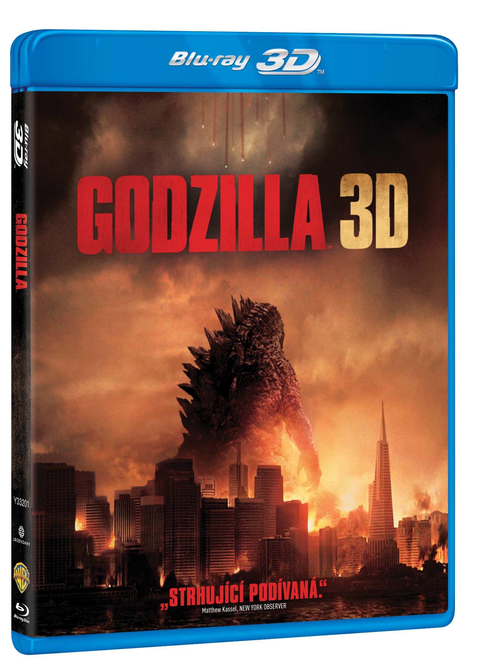 GODZILLA (2014) - Blu-ray 3D + 2D