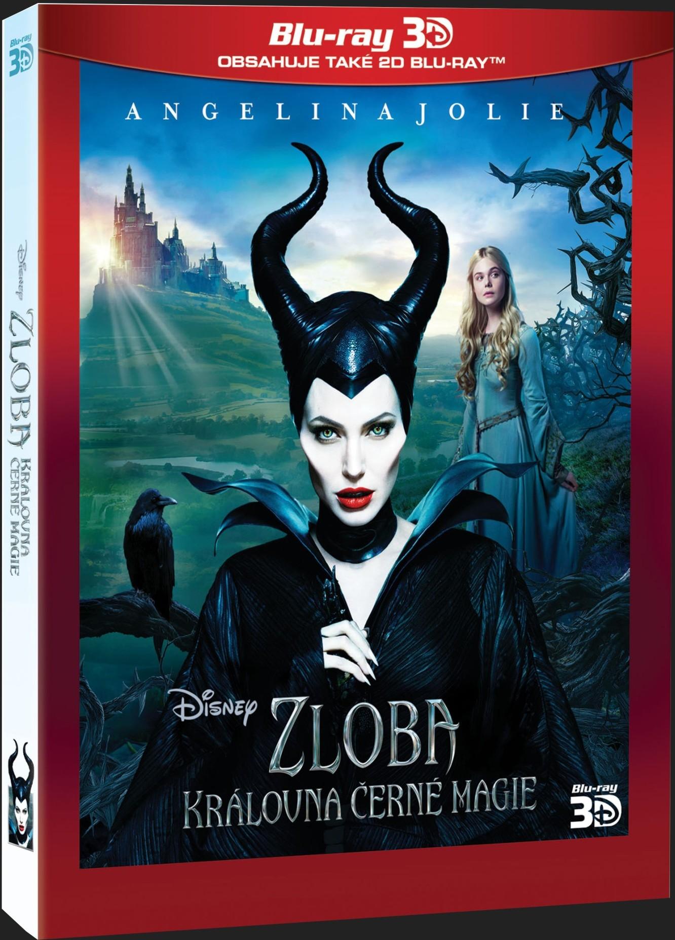 ZLOBA - KRÁLOVNA ČERNÉ MAGIE (Maleficent) - Blu-ray 3D + 2D