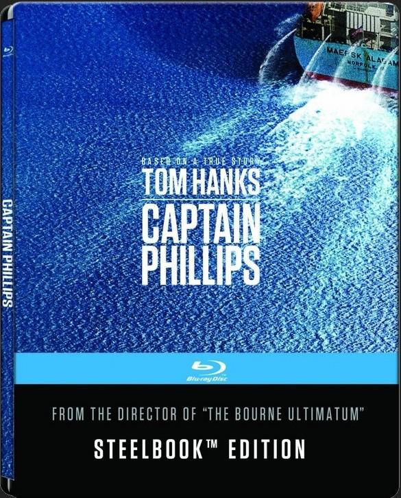 KAPITÁN PHILLIPS - Blu-ray STEELBOOK