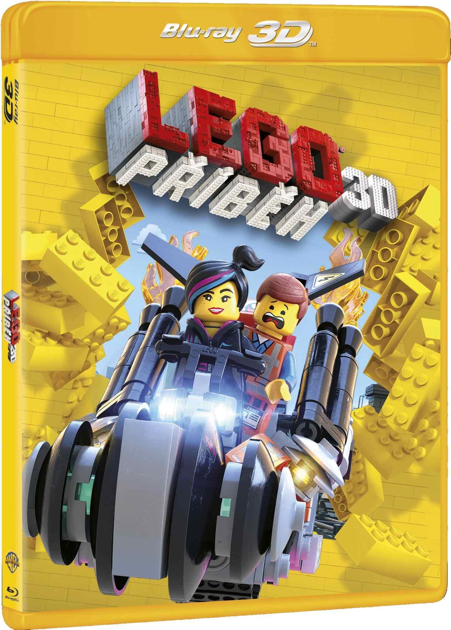 LEGO PŘÍBĚH - Blu-ray 3D + 2D