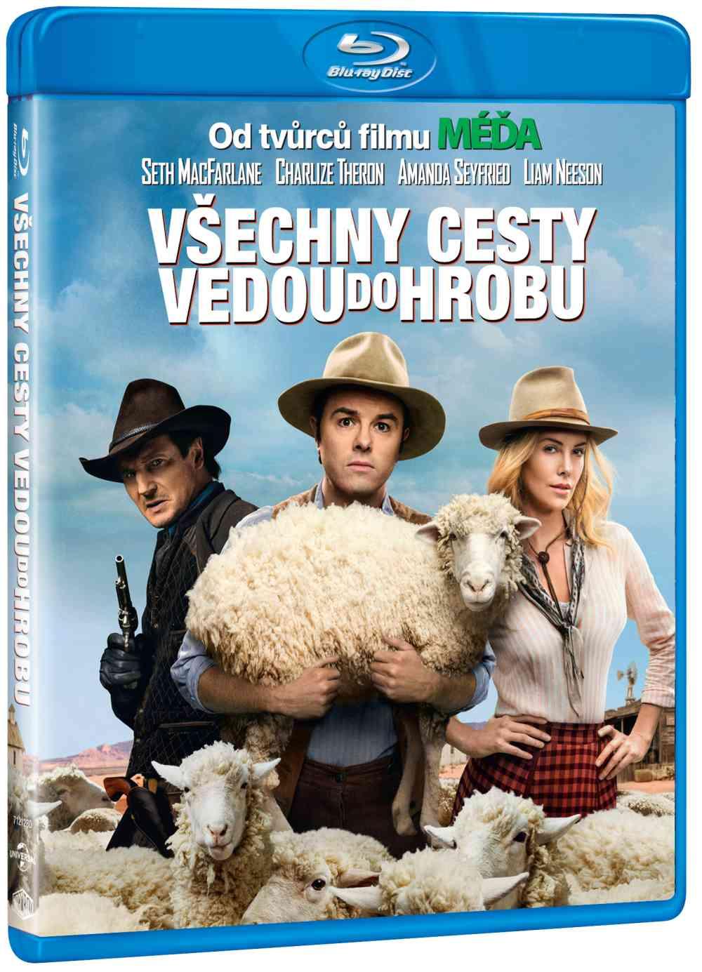 VŠECHNY CESTY VEDOU DO HROBU - Blu-ray