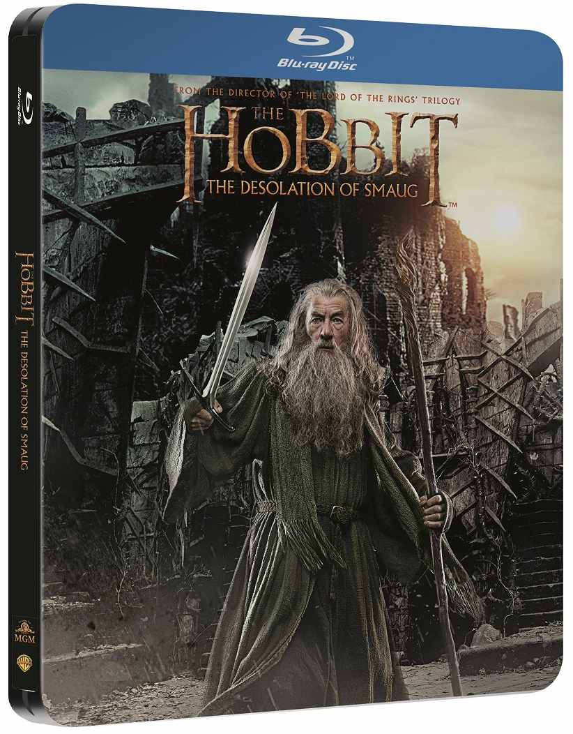 HOBIT: ŠMAKOVA DRAČÍ POUŠŤ - Blu-ray (2 BD) STEELBOOK