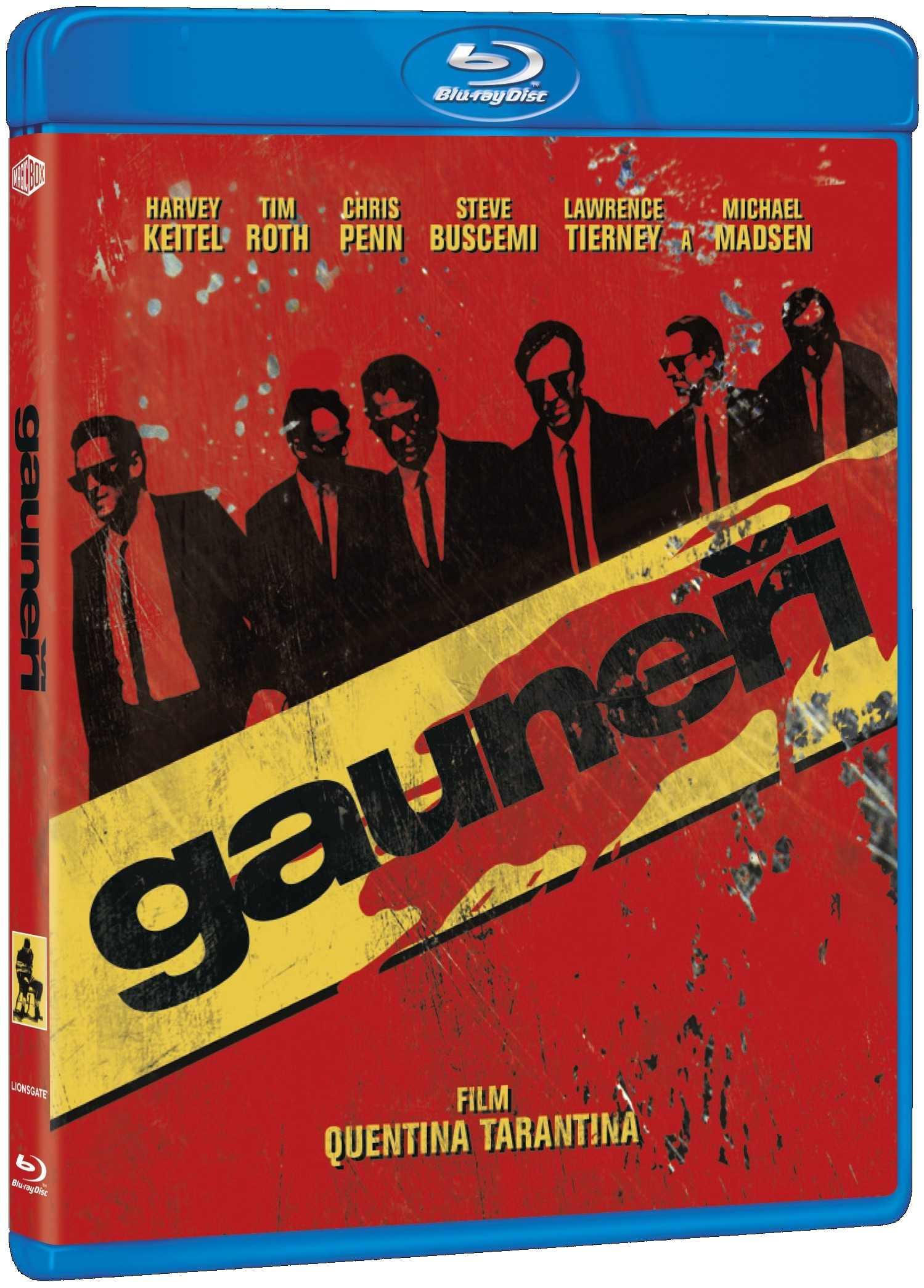 GAUNEŘI - Blu-ray