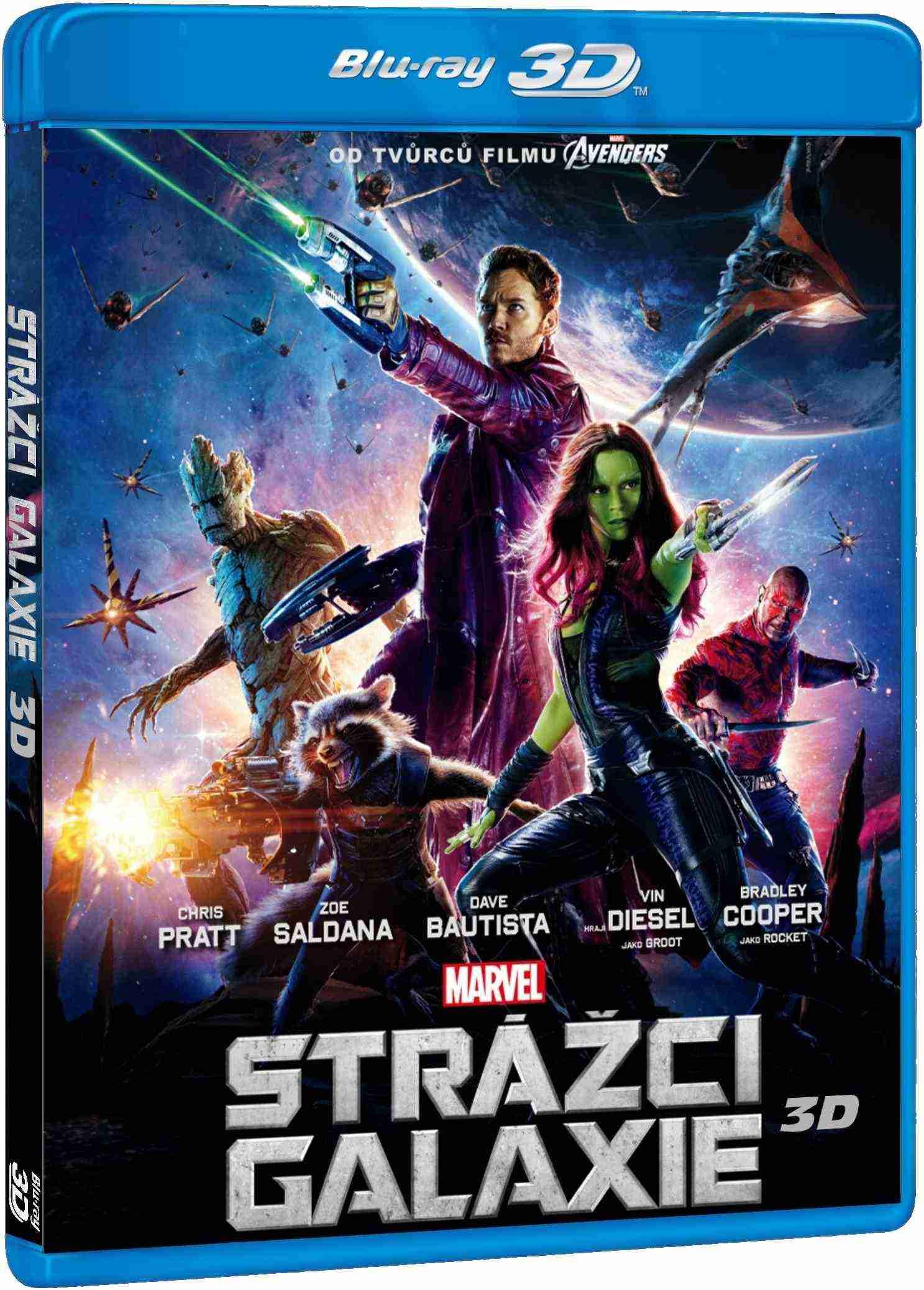 STRÁŽCI GALAXIE - Blu-ray 3D + 2D