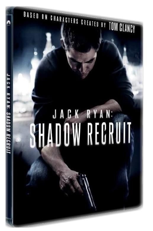 JACK RYAN: V UTAJENÍ - Blu-ray STEELBOOK