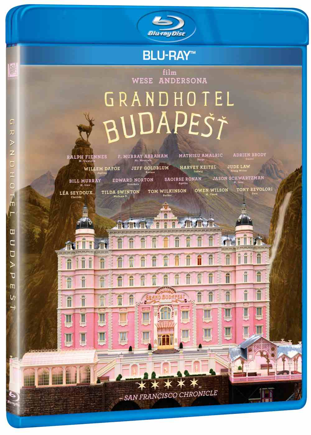 Grandhotel Budapešť - Blu-ray