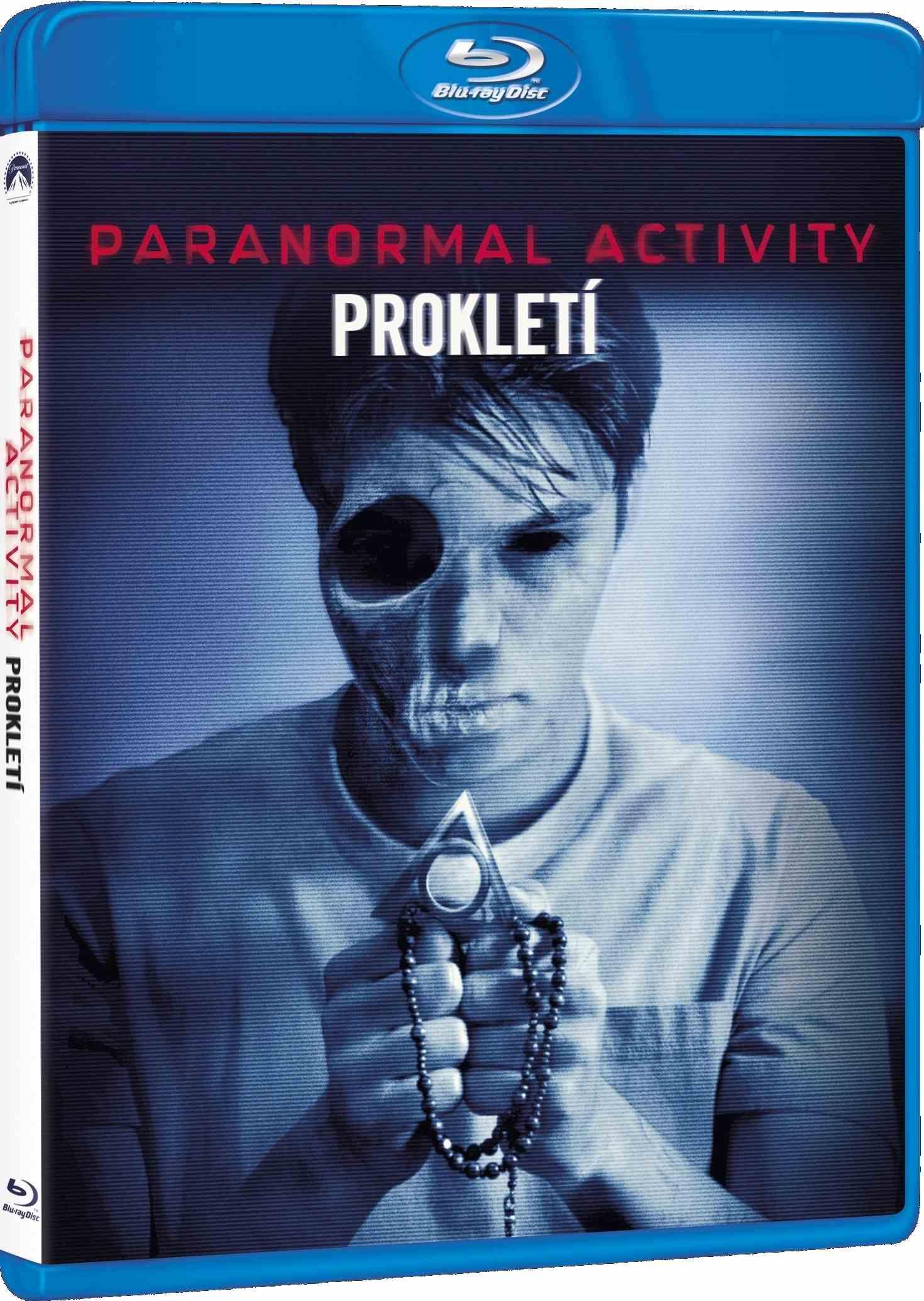 PARANORMAL ACTIVITY: PROKLETÍ - Blu-ray