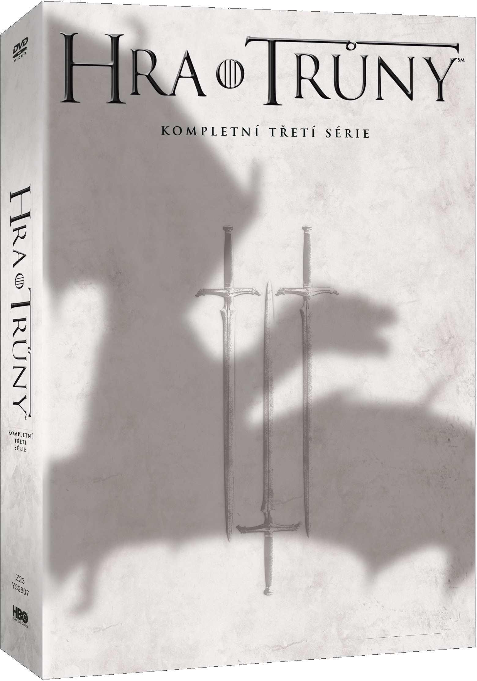 HRA O TRŮNY - 3. SÉRIE (5 DVD) - DVD