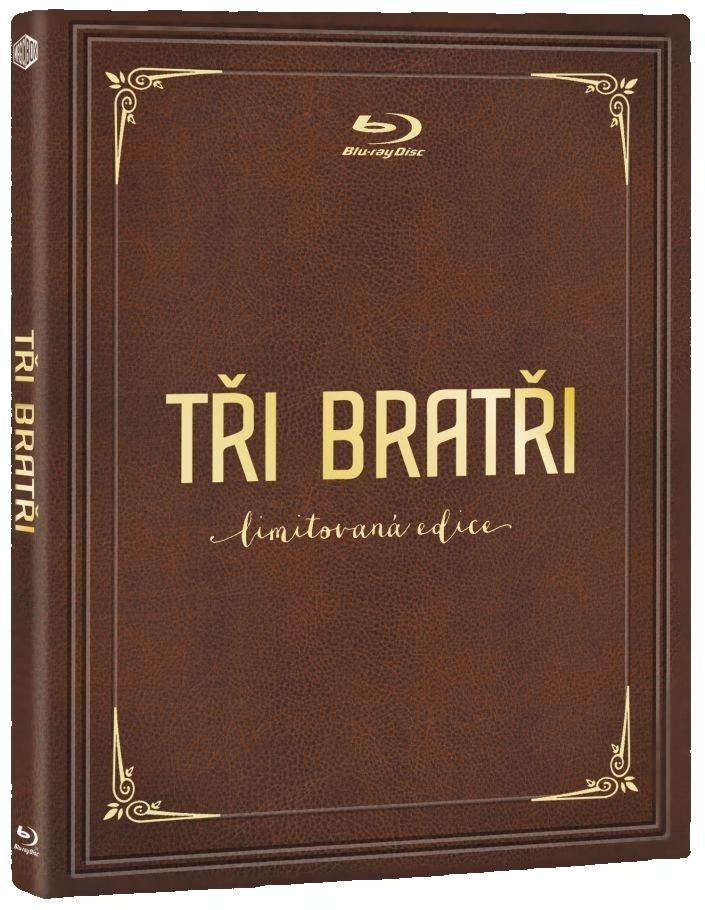 TŘI BRATŘI (MediaBook, Limitovaná edice) - Blu-ray