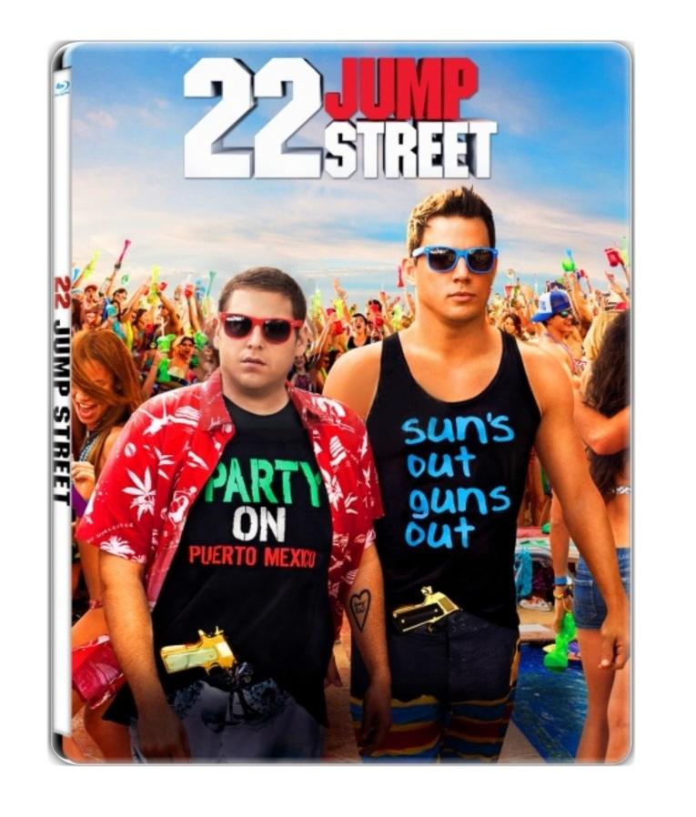 22 JUMP STREET - Blu-ray STEELBOOK