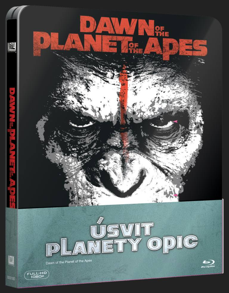 ÚSVIT PLANETY OPIC - Blu-ray 3D + 2D STEELBOOK