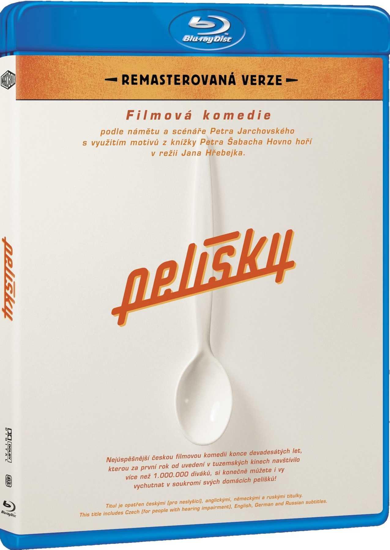 PELÍŠKY (Remasterovaná verze) - Blu-ray