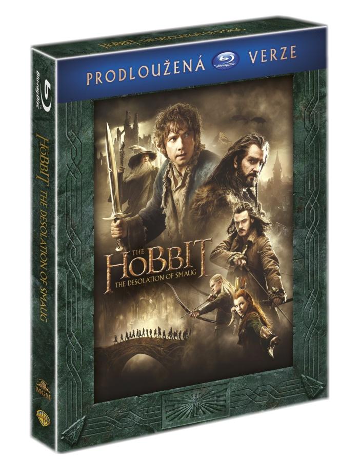 HOBIT: ŠMAKOVA DRAČÍ POUŠŤ (Prodloužená verze, 3 BD) - Blu-ray