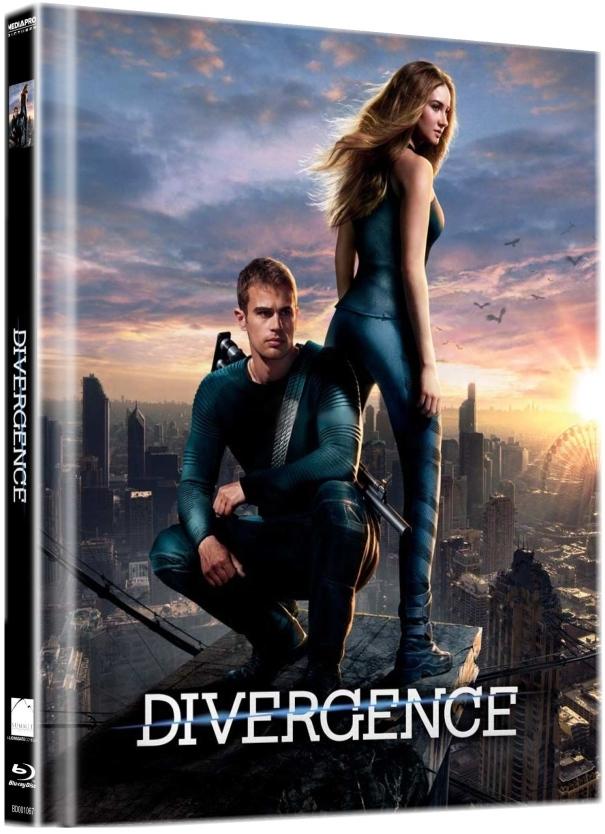 DIVERGENCE - Blu-ray DIGIBOOK