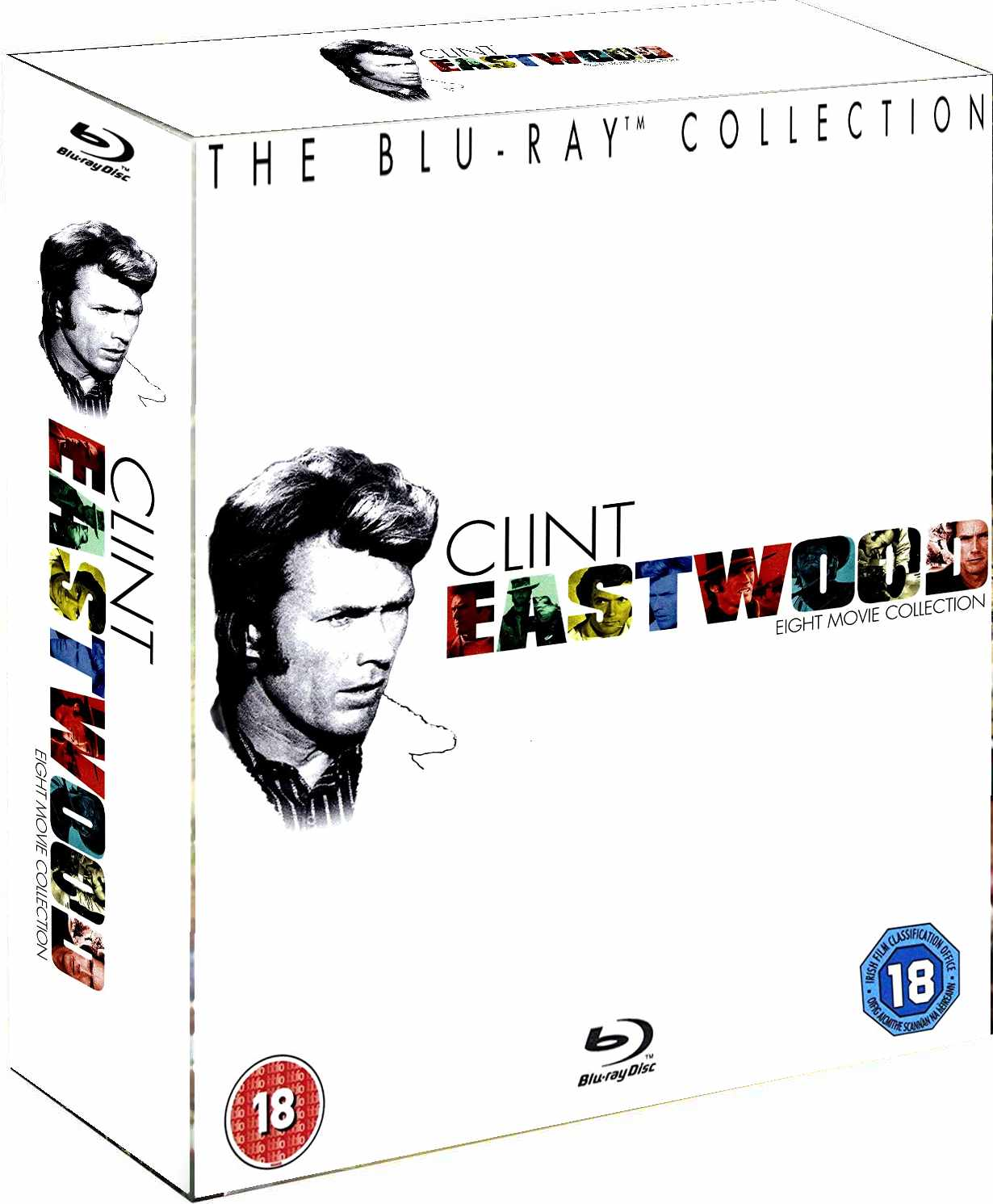 Clint Eastwood - Kolekce 8 filmů (8 BD) - Blu-ray