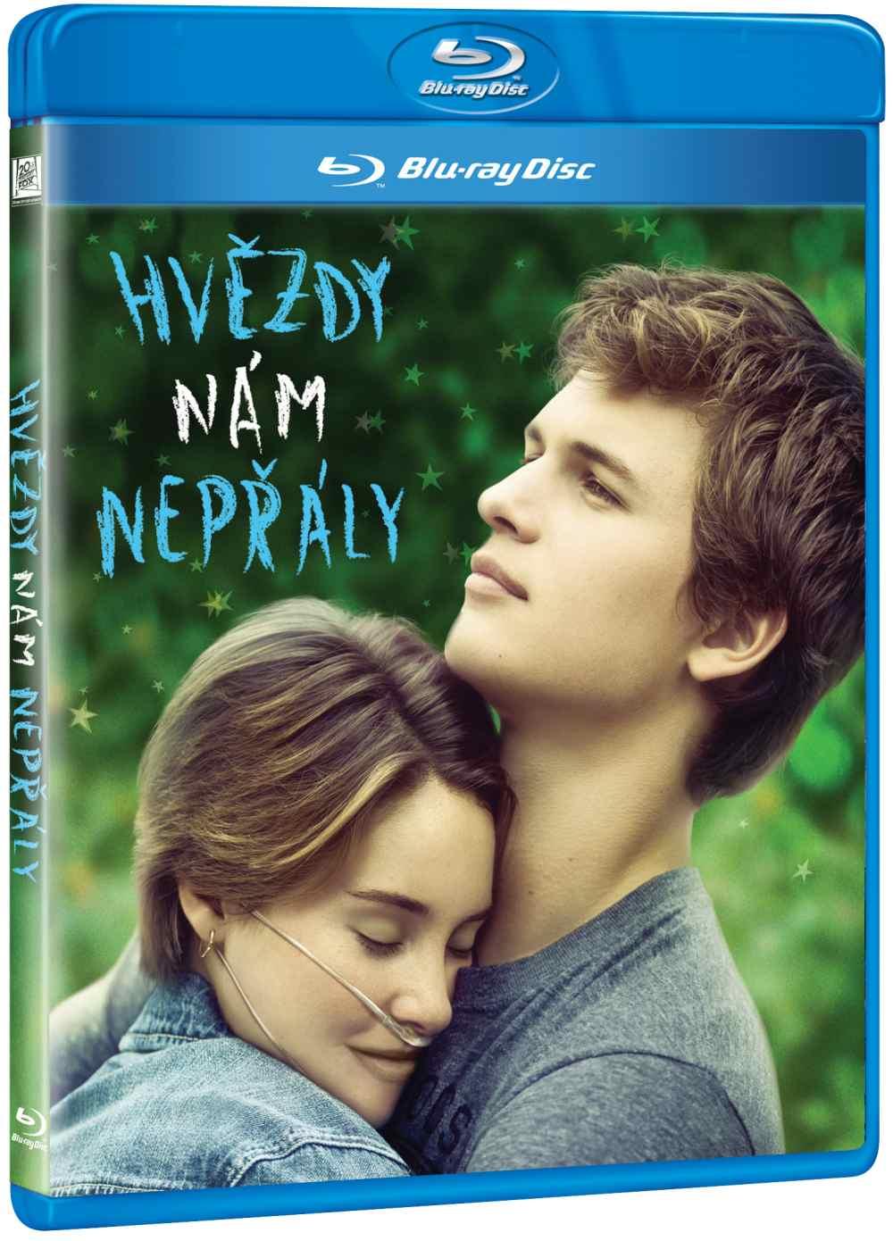 HVĚZDY NÁM NEPŘÁLY - Blu-ray