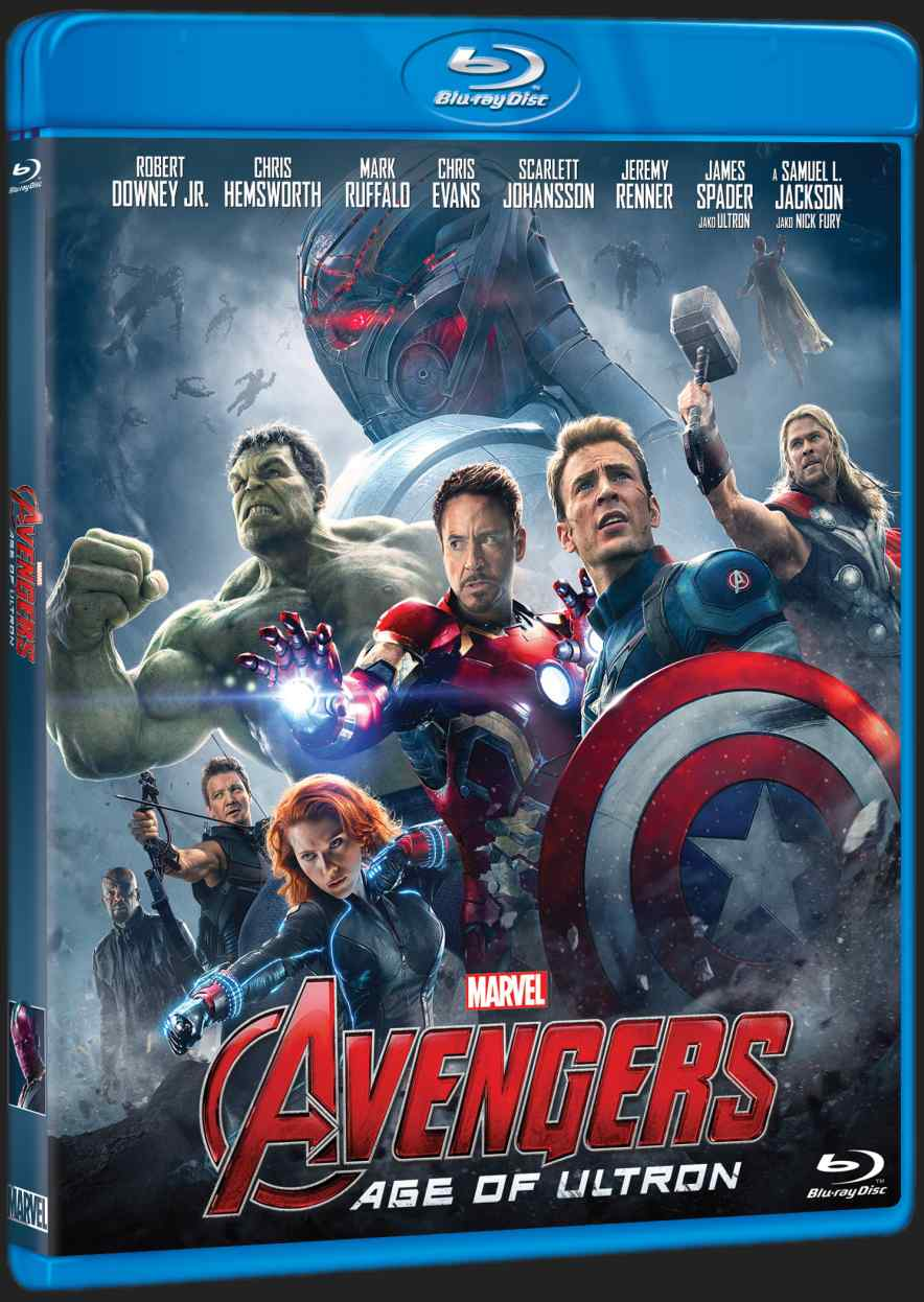 AVENGERS 2: AGE OF ULTRON - Blu-ray