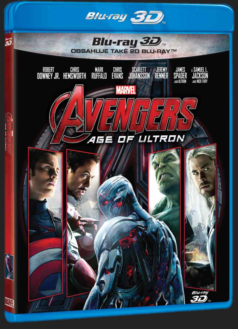 AVENGERS 2: AGE OF ULTRON - Blu-ray 3D + 2D